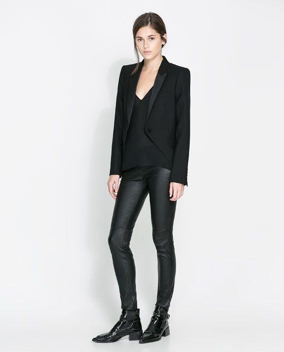 cheap pre order cheap sale VESTE STUDIO QUEUE-DE-PIE- ZARA | Boutique Zara | Queue de ...