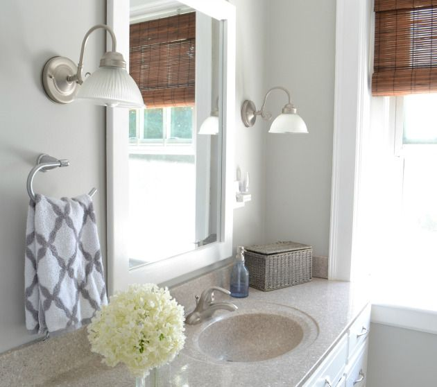 Bathroom Re-do {sharing a fav neutral paint color} - Aimee ...