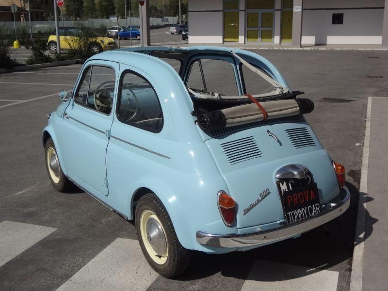 Fiat Nuova 500 N Trasformabile 1959 Cv Prezzo Chiamare Call