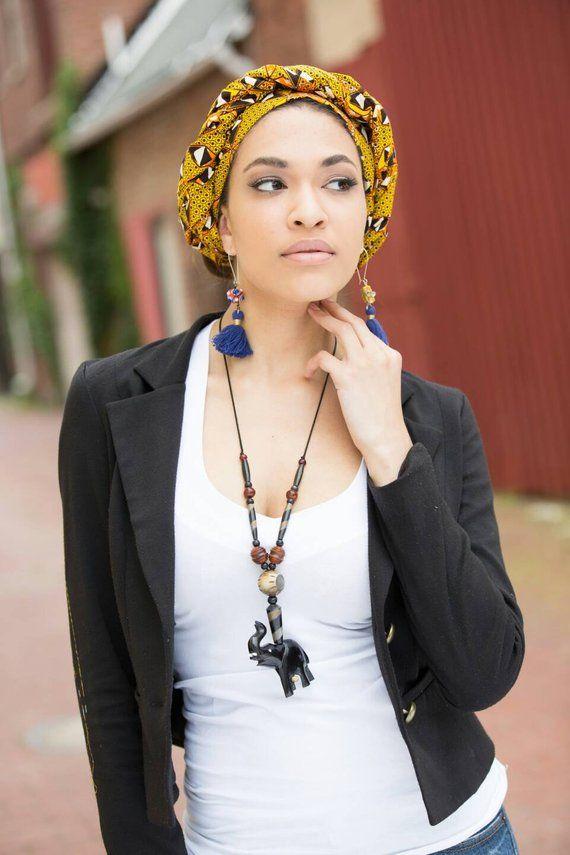 African head wrap, African headwrap, Ankara head w