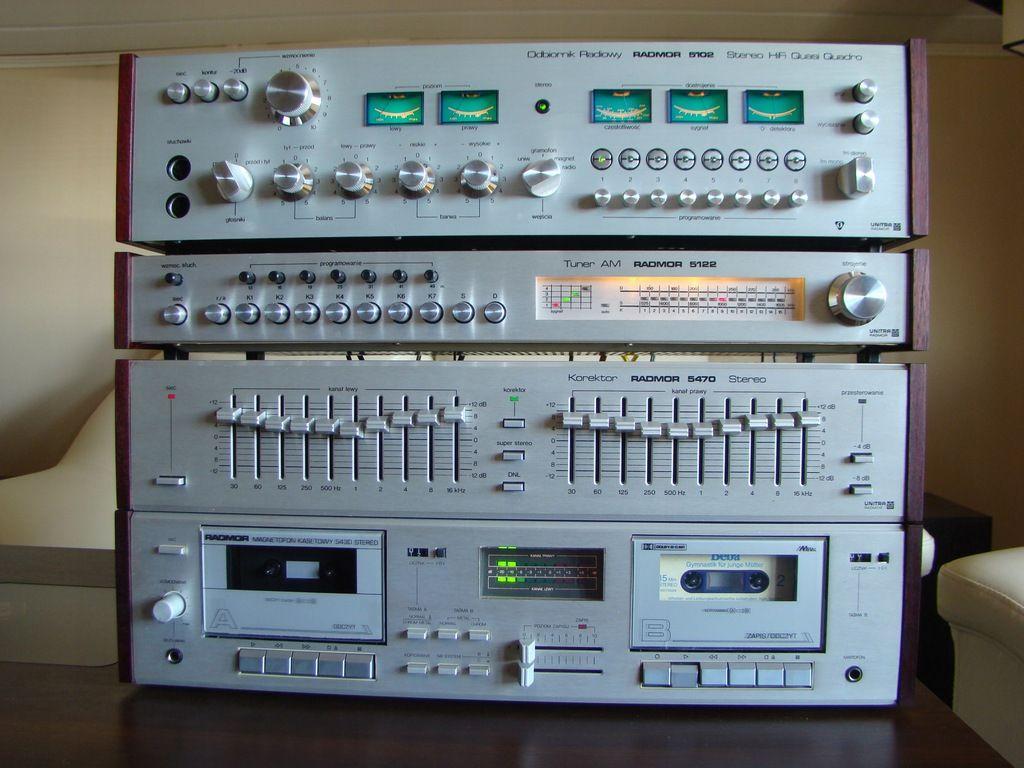 Wieza Radmor 5102 5122 5470 5430 7989291237 Oficjalne Archiwum Allegro Audio Hifi Audio Audio Stand