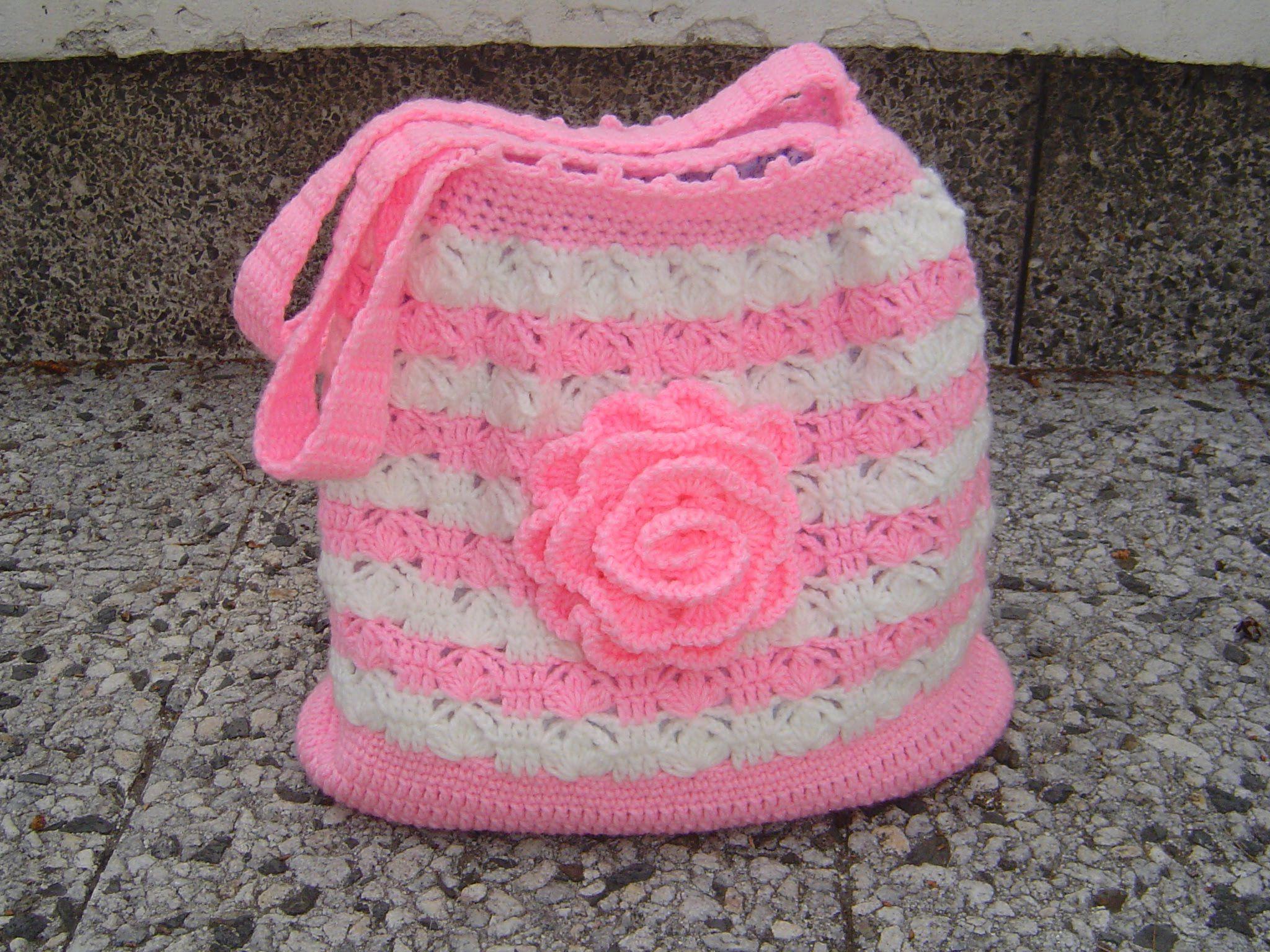 Tutorial bolso tejido a crochet paso a paso parte 1/2   VIDEOS ...