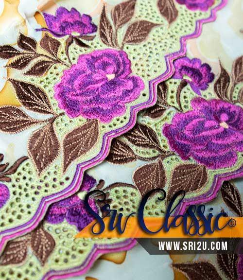 Corak Sulaman Bunga Ros Rose Crochet