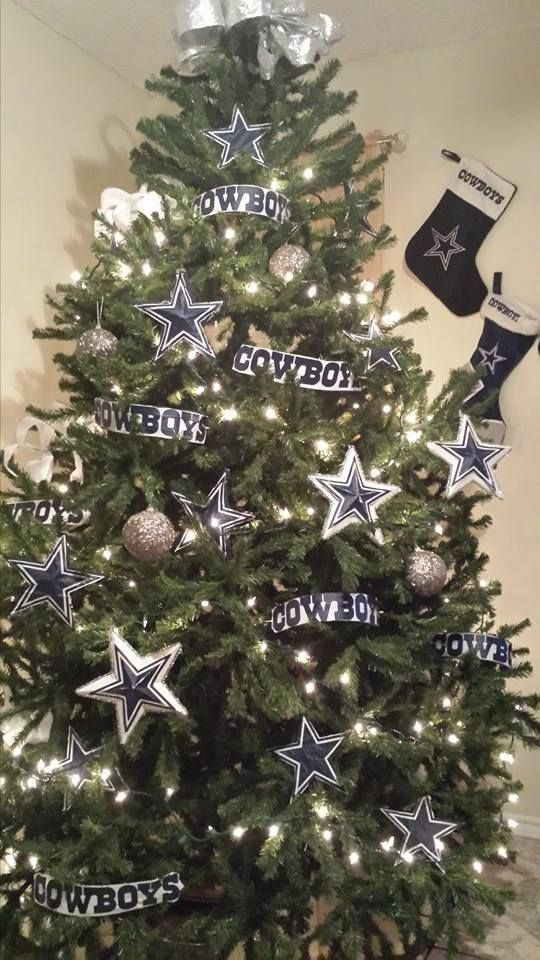 Cowboys Christmas Tree - Cowboys Christmas Tree Dallas Cowboys Cowboys, Cowboy Christmas