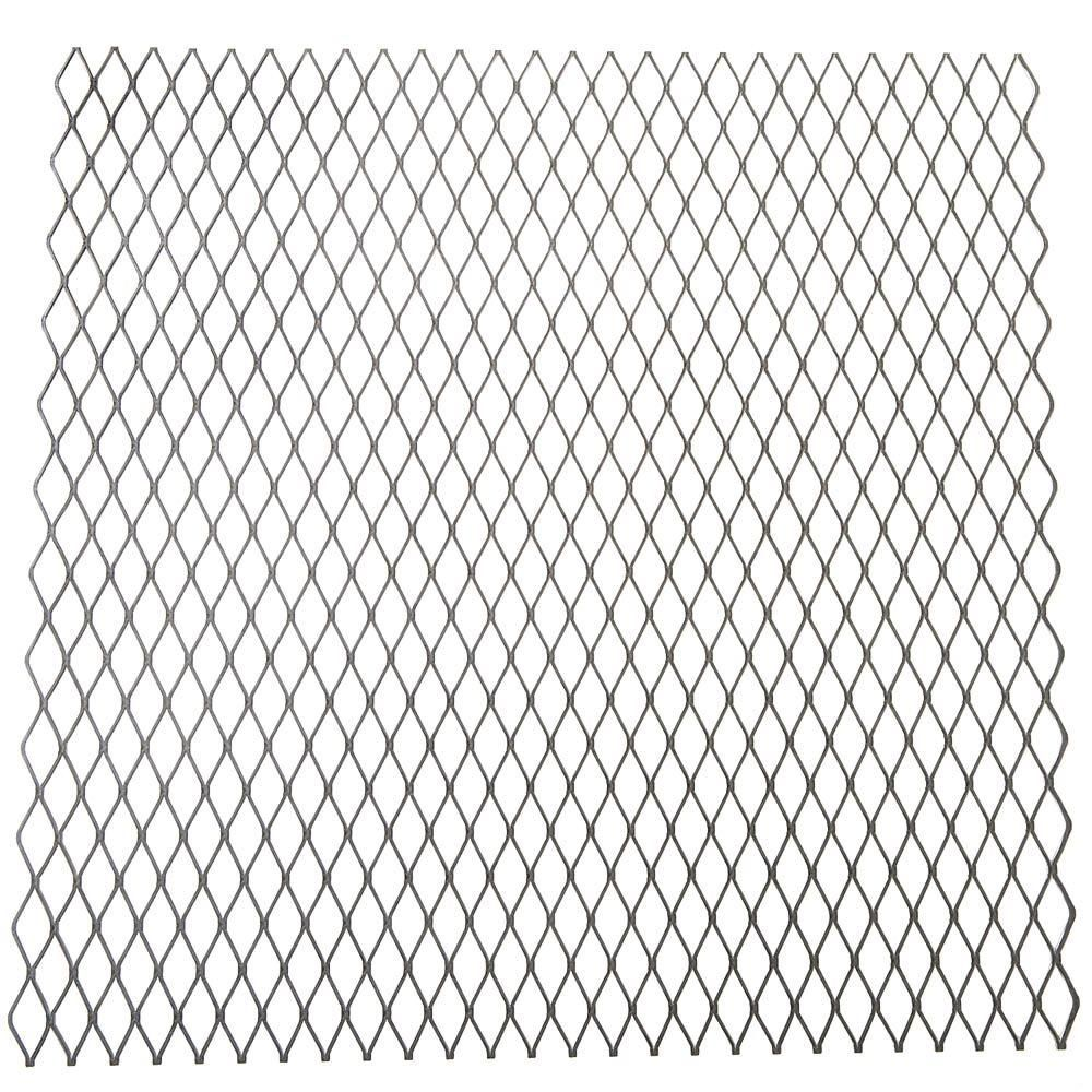 Everbilt 24 in. x 3/4 in. x 24 in. Plain Expanded Metal