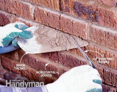 How To Repair Mortar Joints Home Repair