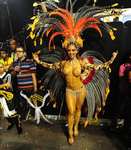 Carnival Brazil 2012 Academicos Do Tucuruvi Carnival Dancers