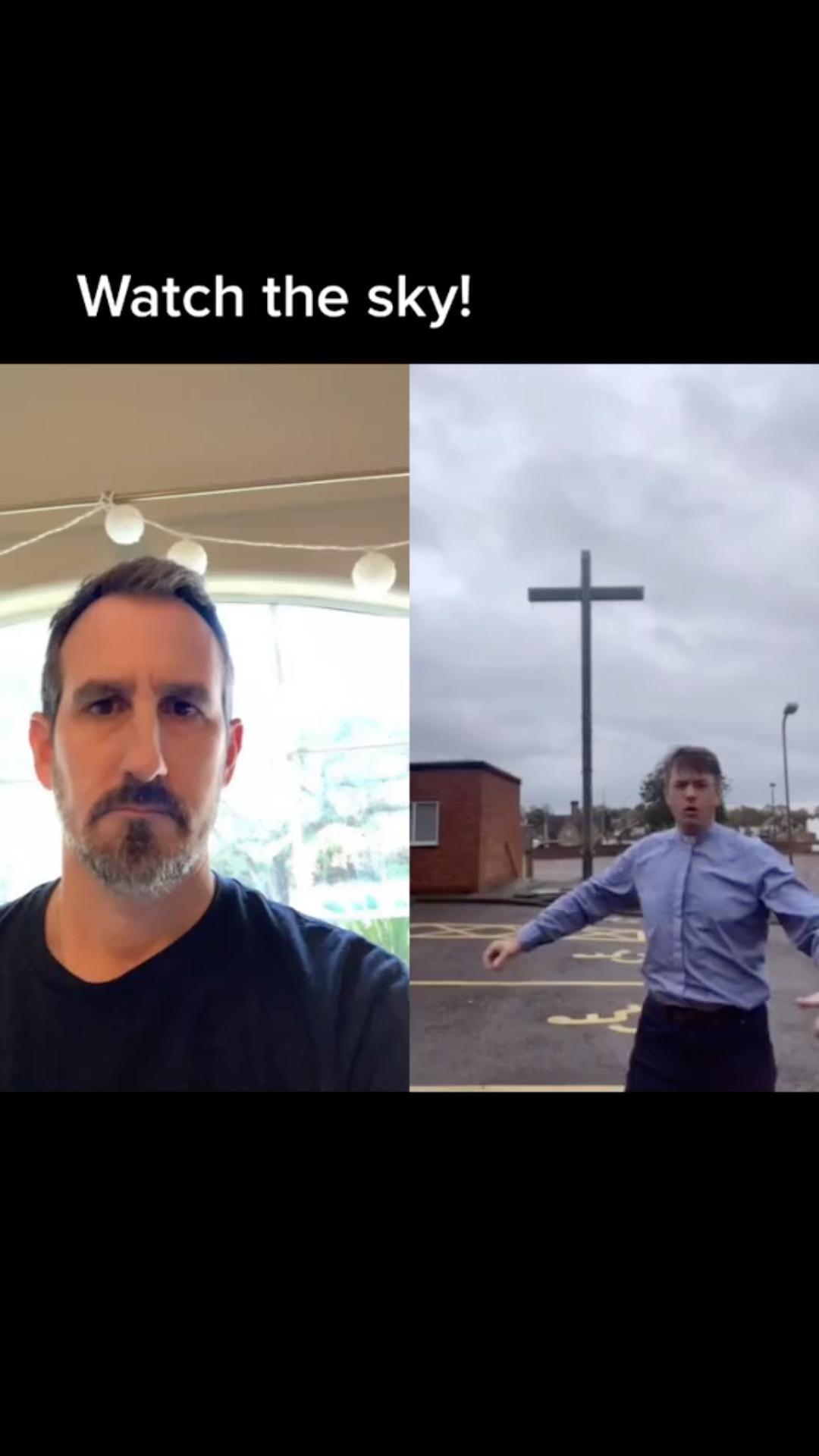 God makes an appearance!