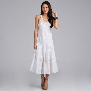 White Long Casual Dresses