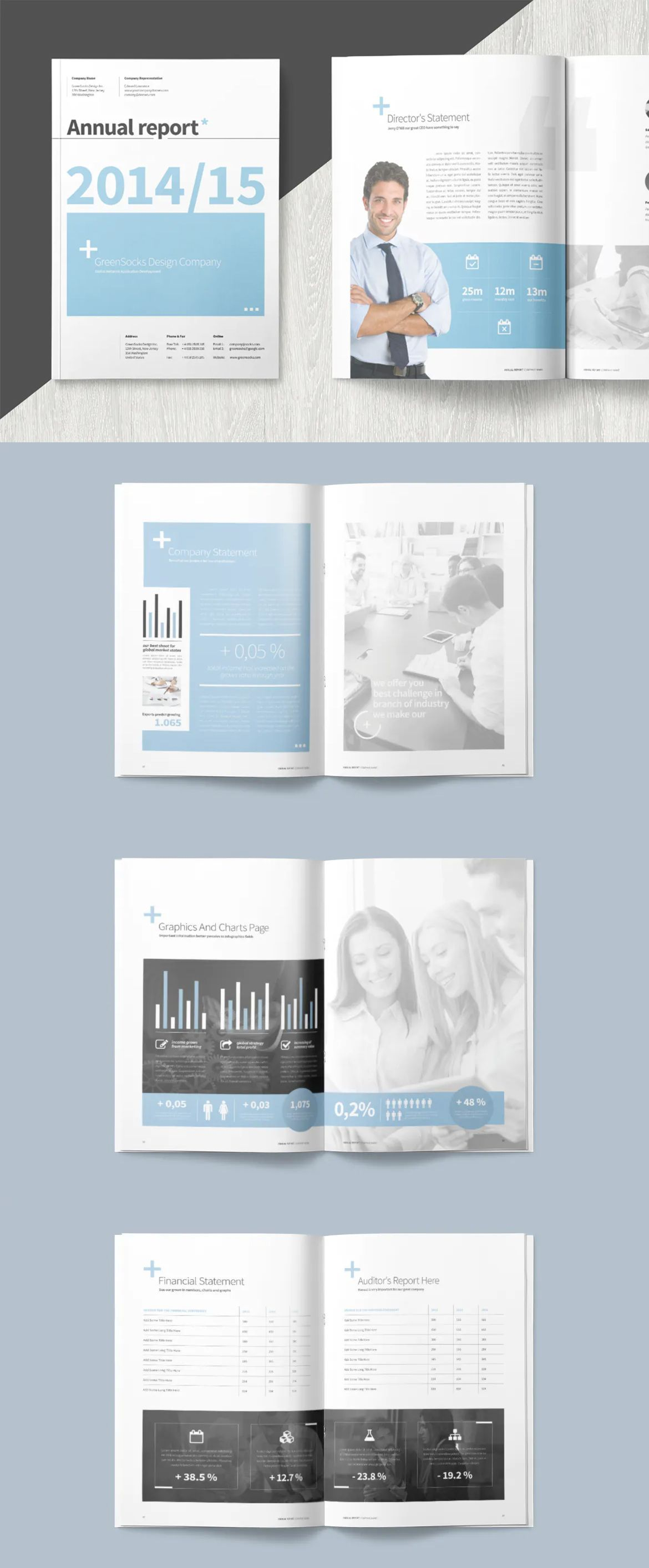 Annual Report Template Indesign Indd Annualreports Annual Report Nonprofit Annual Report Report Template
