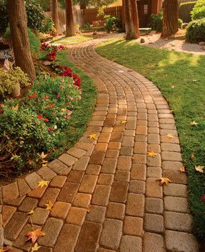 Pin By Kari Lewis On For The Home Walkway Landscaping Pathway Landscaping Front Yard Landscaping