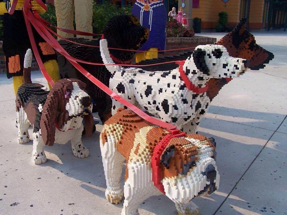 Cães de Lego