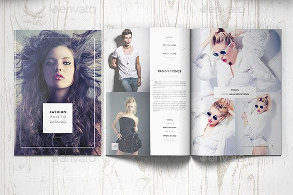 Awesome InDesign PSD Photography Brochure Templates - Photography brochure templates