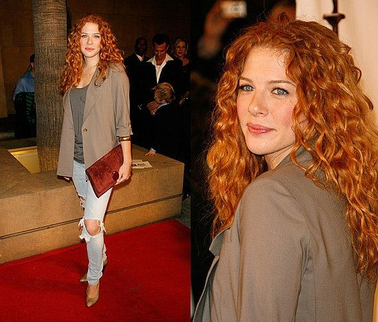 Alexandra Alvarez This Actress Looks Exactly How I Pictured Rachel Morgan Is That How You Pictured Her Adore Hair Dye Curly Hair Styles Red Curly Hair