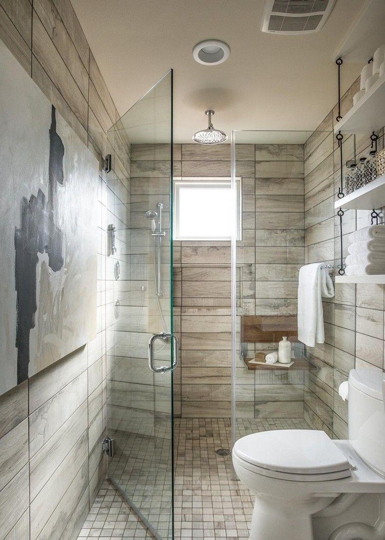Badezimmer 4 Qm Ideen Mobel Sanitarlosungen Praktische Raumgestaltung Fliesen Kleine Badezimmer Design Modernes Kleines Badezimmerdesign Holzfliesen Dusche