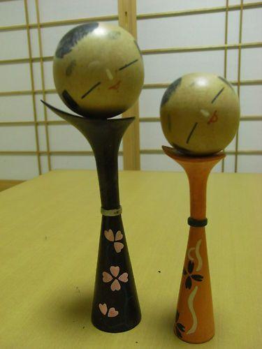 Japanese vintage folk craft doll----Kokeshi-----CK5001