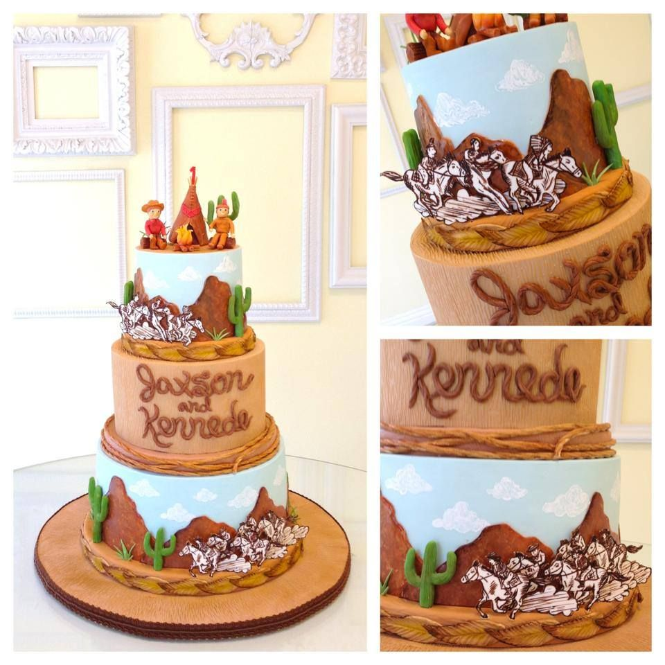 Cowboy party cake ideas - Find This Pin And More On Kids Cakes