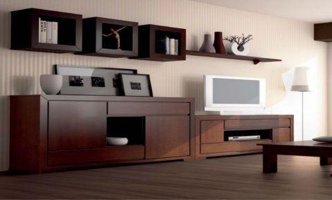 mueble madera moderno - Căutare Google hacer Pinterest Muebles