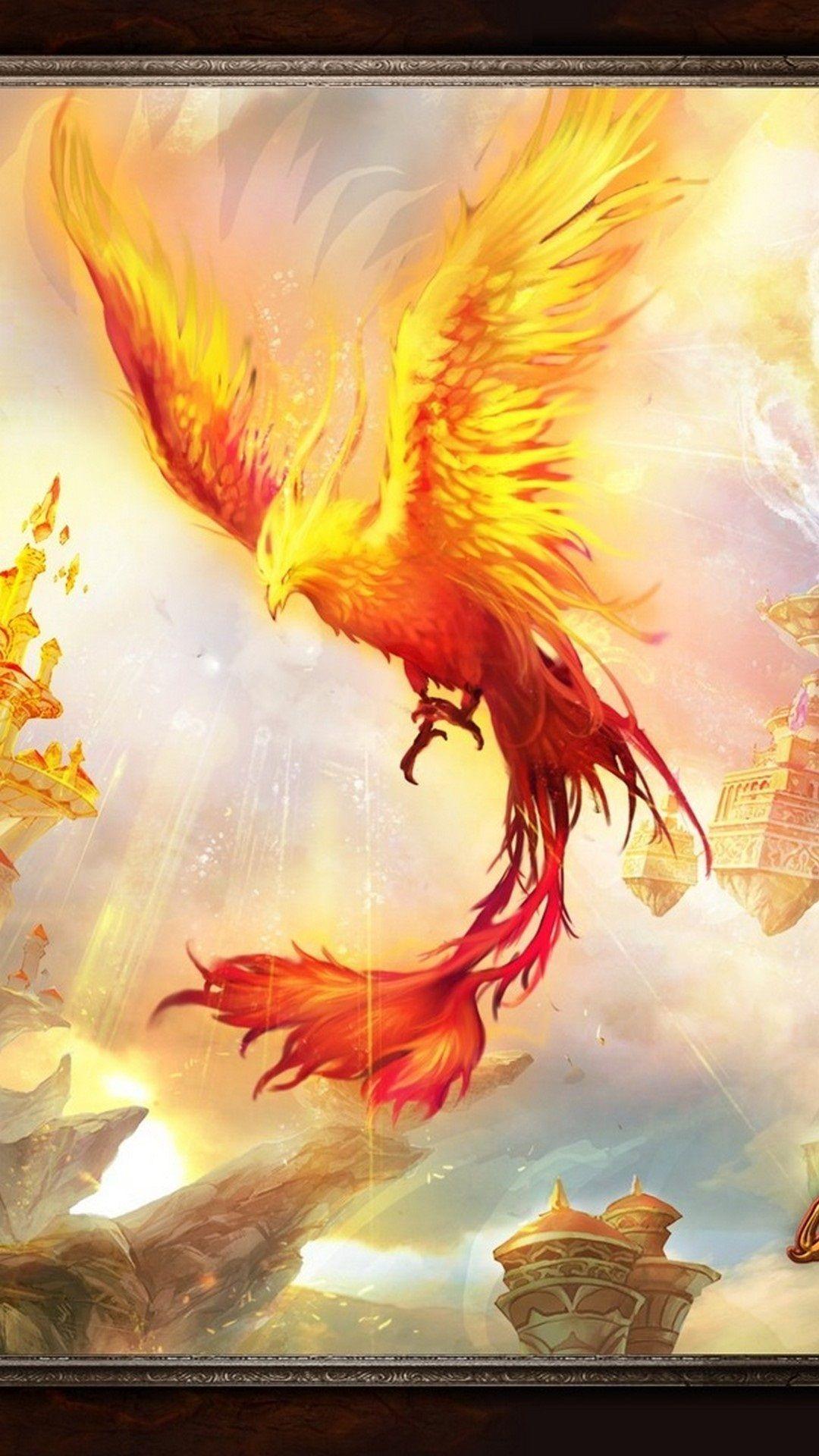 Phoenix Bird Images Wallpaper For iPhone Best iPhone