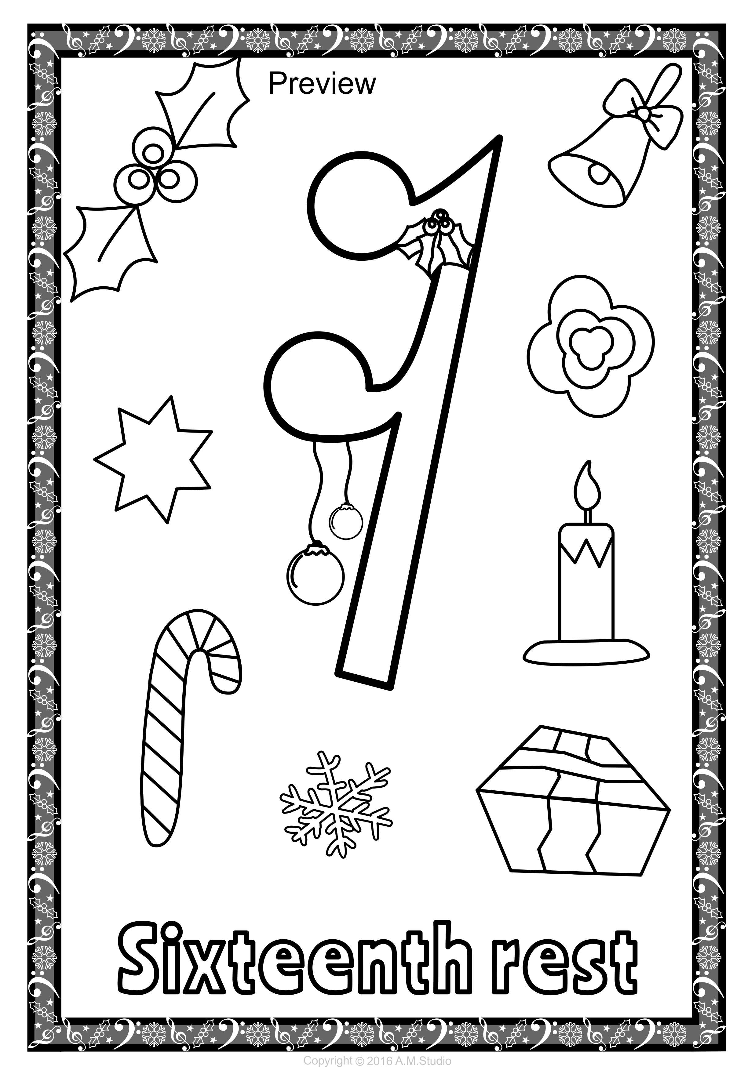 Christmas musical posters for coloring music symbols music let your kids decorate your classroom with these music symbol signs this set of 53 biocorpaavc Images