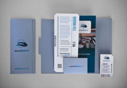 Clean Modern Brochure Examples  BrochuresBooklets