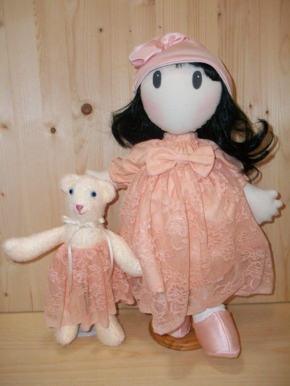Cartamodello e Istruzioni Bambola tessile artigianale, Dollmaking