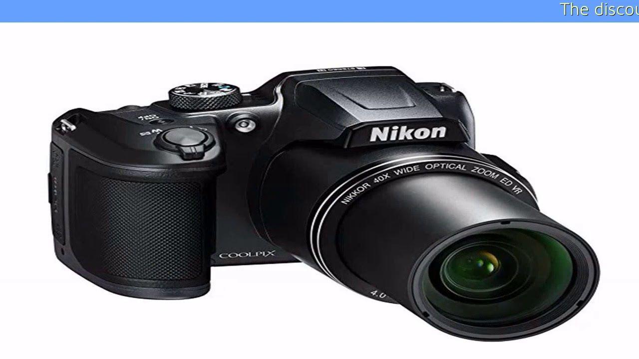Nikon Coolpix B500 Digital Camera Black Nikon Coolpix B500 Coolpix B500 Digital Camera