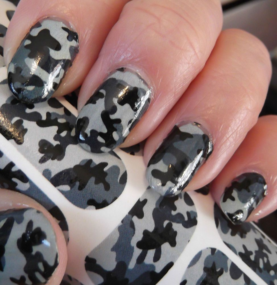 Here's the tutorial for my easy camo nails! I'll put together an in depth  YouTube tutorial for these asap! Also come check out my pro page @pronai… - Here's The Tutorial For My Easy Camo Nails! I'll Put Together An