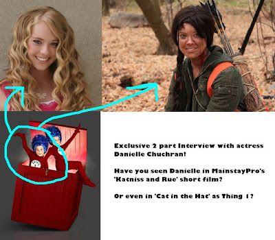 The Vivacity Blog!: EXCLUSIVE Q&A with actress Danielle Chucran! - Part 1