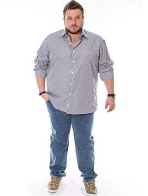 5e590b90b001d Looks de verão para homens plus size …   Big Men Fashion in 2019…