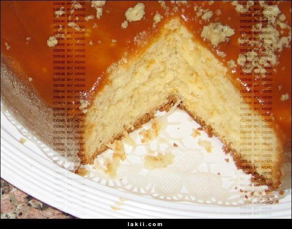 كيكة الزبادي الهشة بطبقة التوفي والله روووووووعة Desserts Cake Food