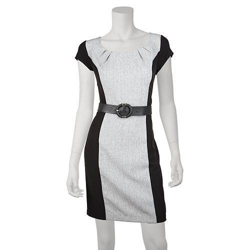 IZ Byer California Ruched Cap-Sleeved Dress - Juniors
