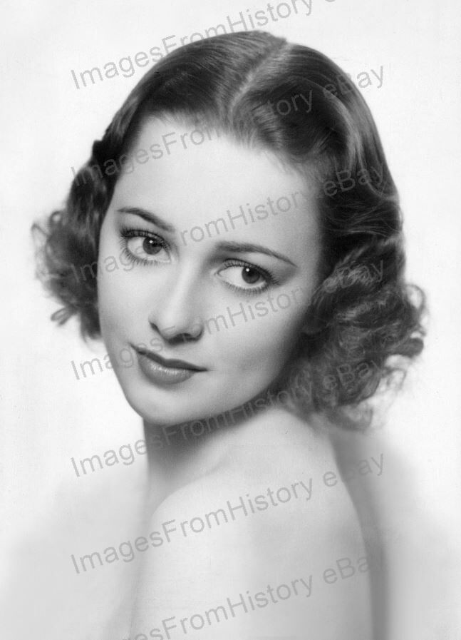 8x10 Print Olivia De Havilland Beautiful Portrait by Elmer Fryer #ODEN | eBay