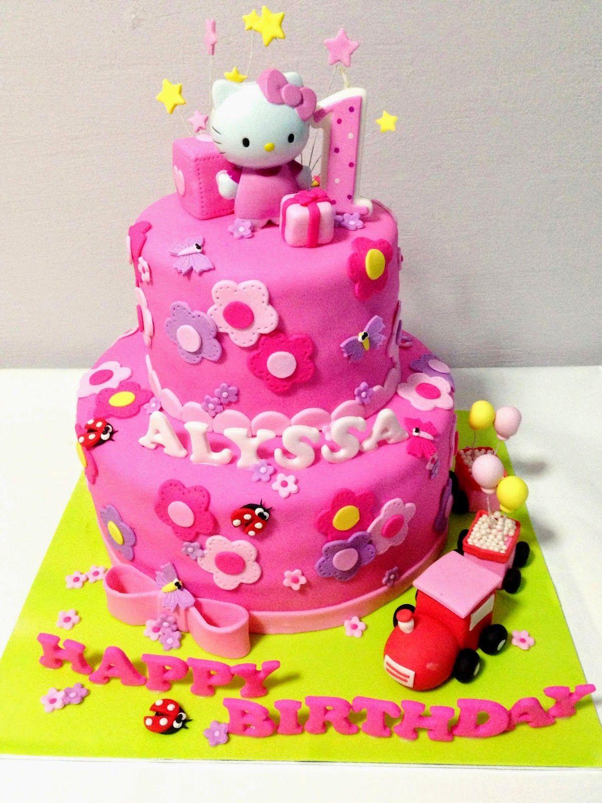 Pleasing Oven Creations Happy 1St Birthday Alyssa Happy Birthday Alyssa Funny Birthday Cards Online Hetedamsfinfo