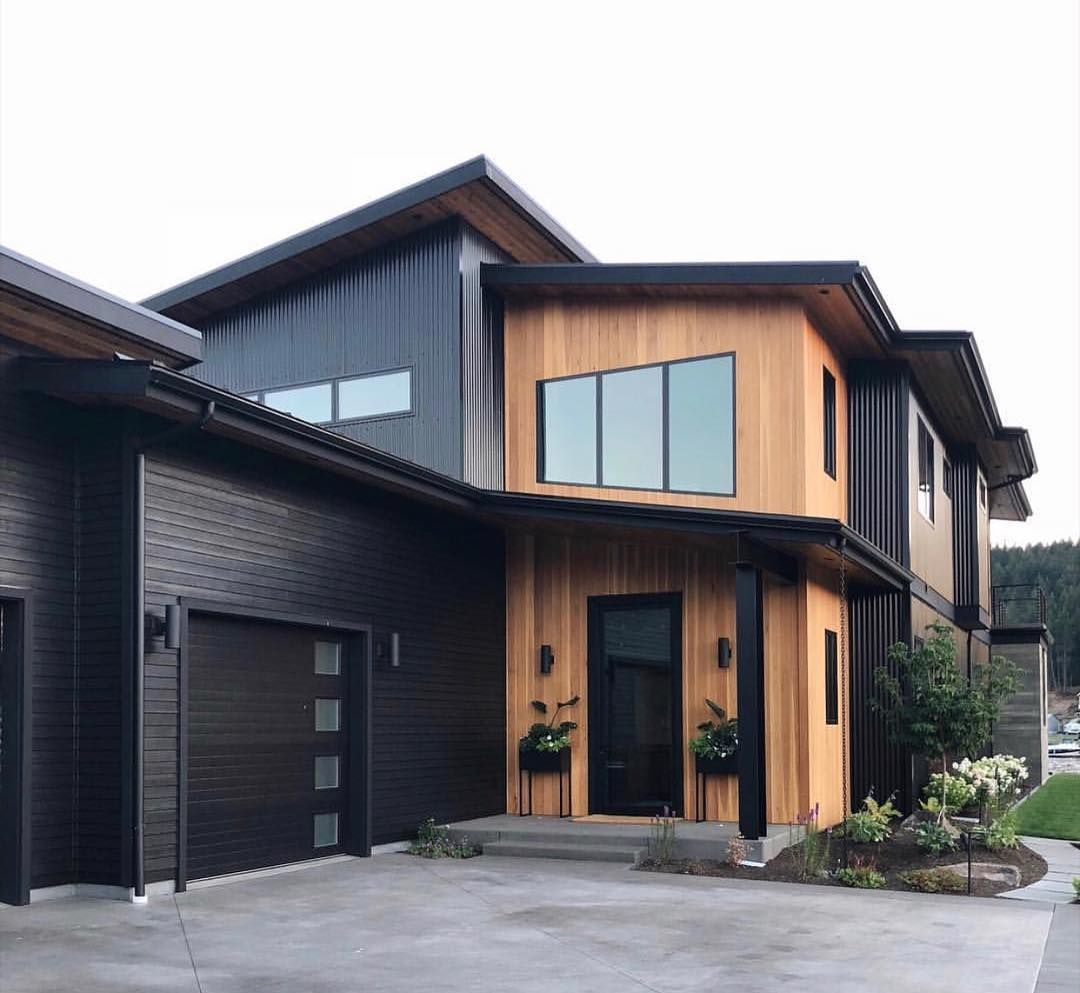 """Modern Exterior Wood Siding: My Bohemian House On Instagram: """"The Obsession"""