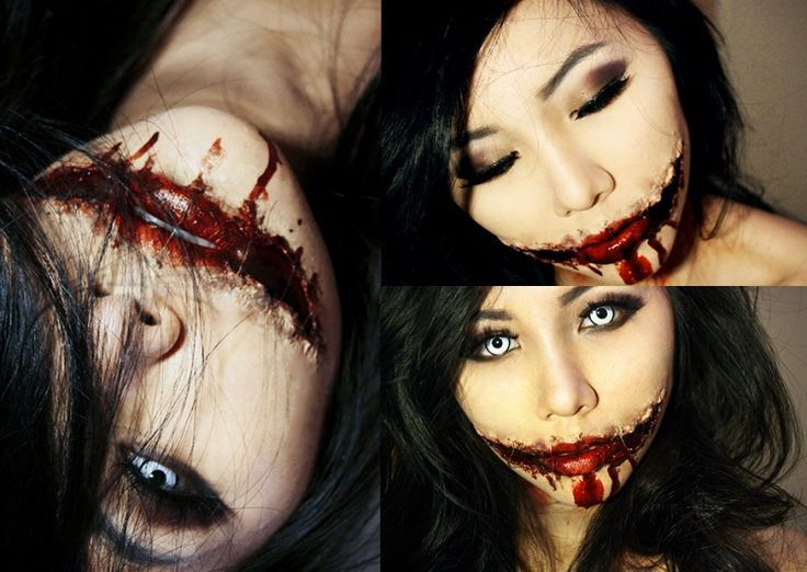Split mouth | makeup morgue | Pinterest | Halloween costumes