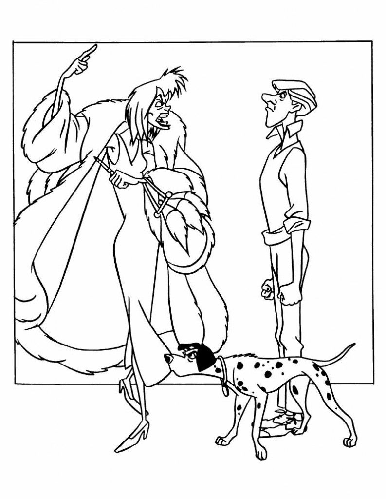 101 dalmatians coloring pages - Google-søgning | Disney Coloing ...