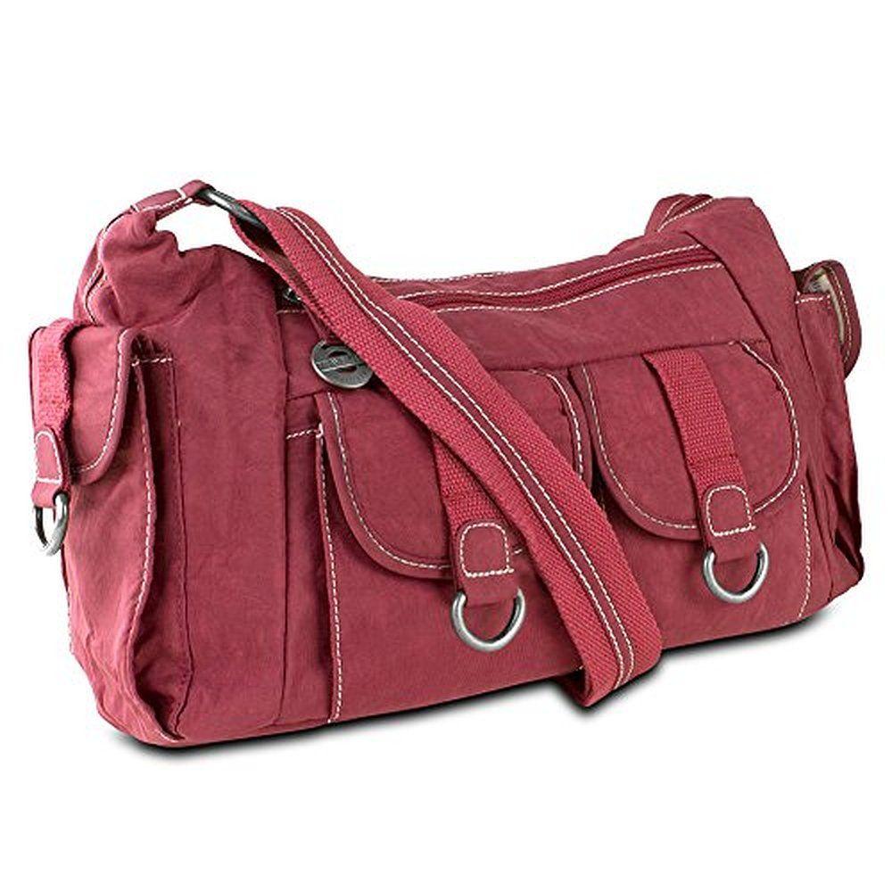 Travelon Organizer Hobo Bag with Cargo Pockets