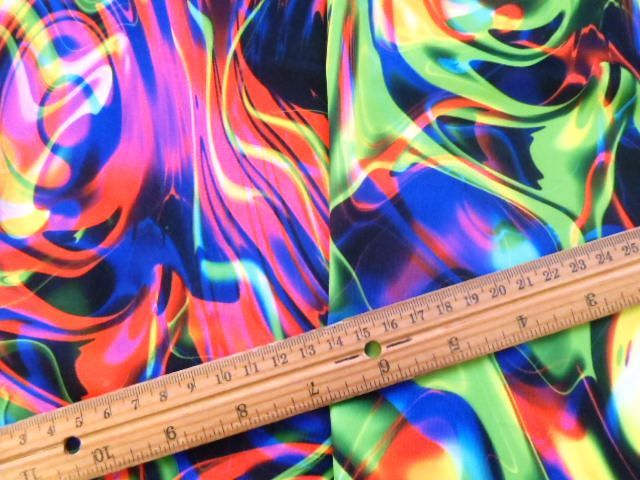 Lycra Fabric Tropical Turmoil