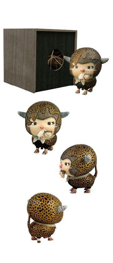 Leopard Black Sheep by Carrie Chau