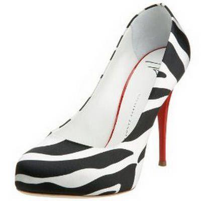 6d4f09b3c6e Giuseppe Zanotti Zebra Shoes. Giuseppe Zanotti Zebra Shoes Red Heels ...
