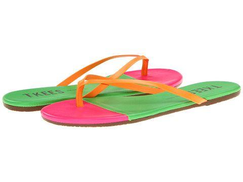 1385a4f3da68 Tkees Flip-Flop-Neon Tips