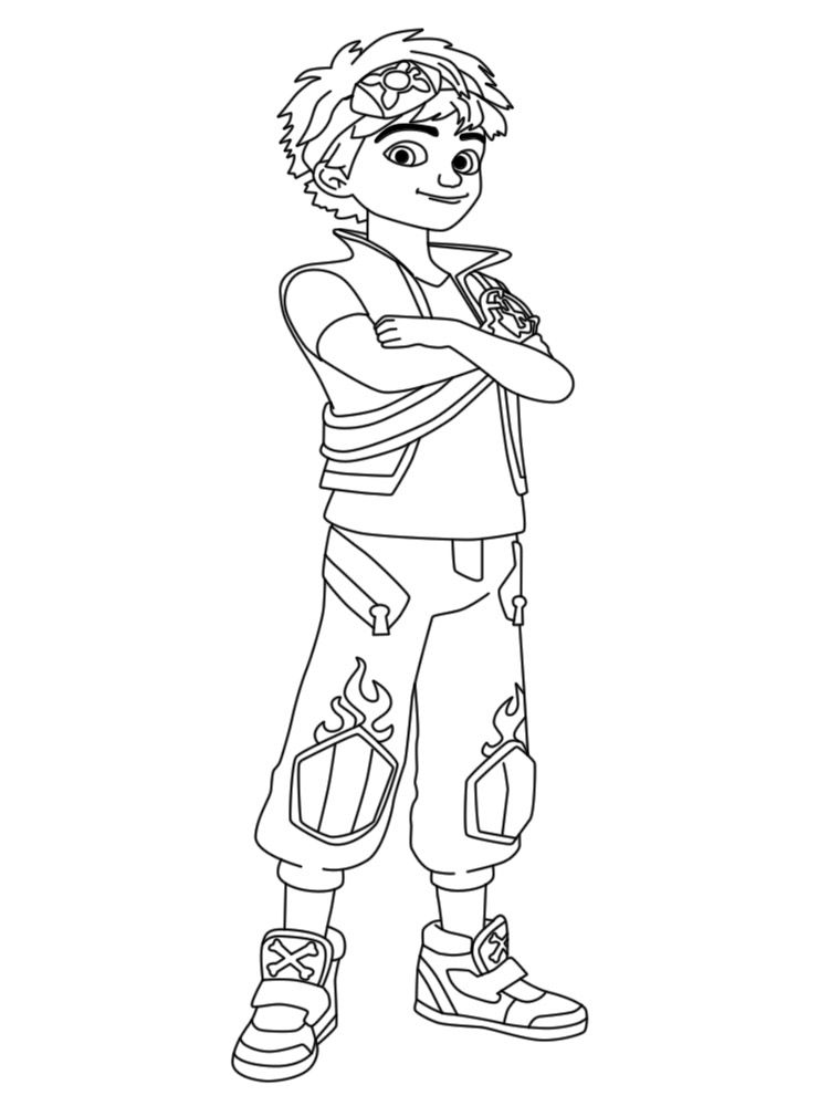 Free Printable Zak Storm Coloring Pages For Kids In 2021 Cartoon Coloring Pages Ladybug Coloring Page Coloring Pages