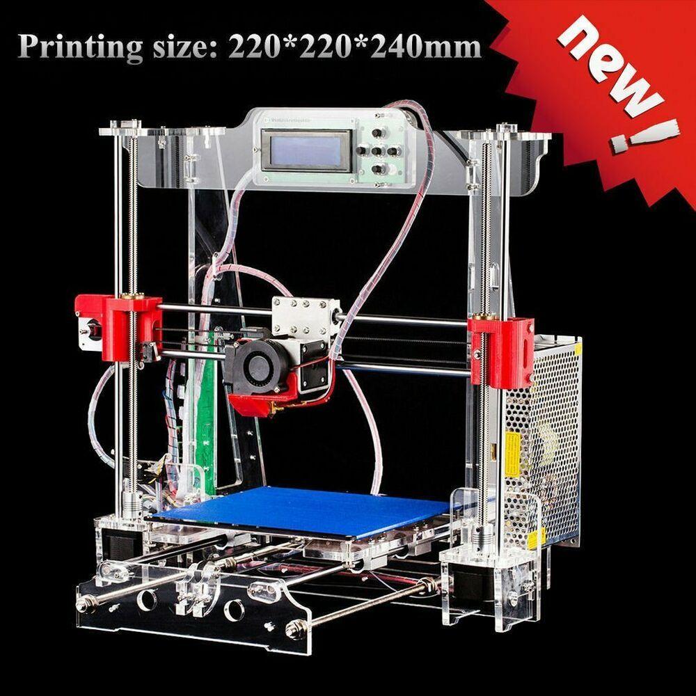 Tronxy P802M High Accuracy 3D Desktop Printer Prusa i3 DIY Kit LCD Screen