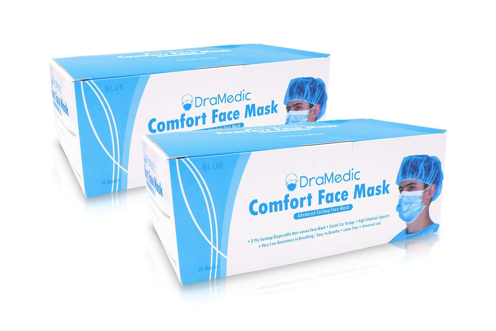 surgical face masks antiviral