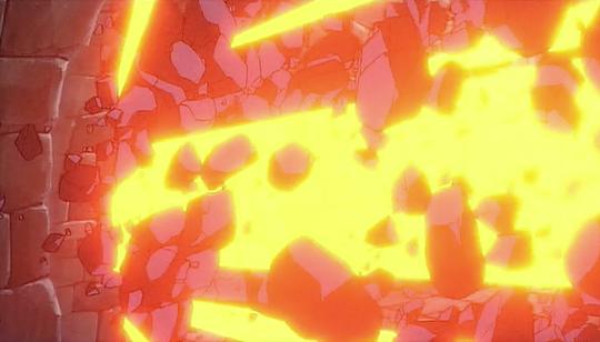 Laputa Fanart Frame By Frame Blast Explosion Fx Animation From Studio Ghibli Castle In The Sky Elemental Magic Studio Ghibli