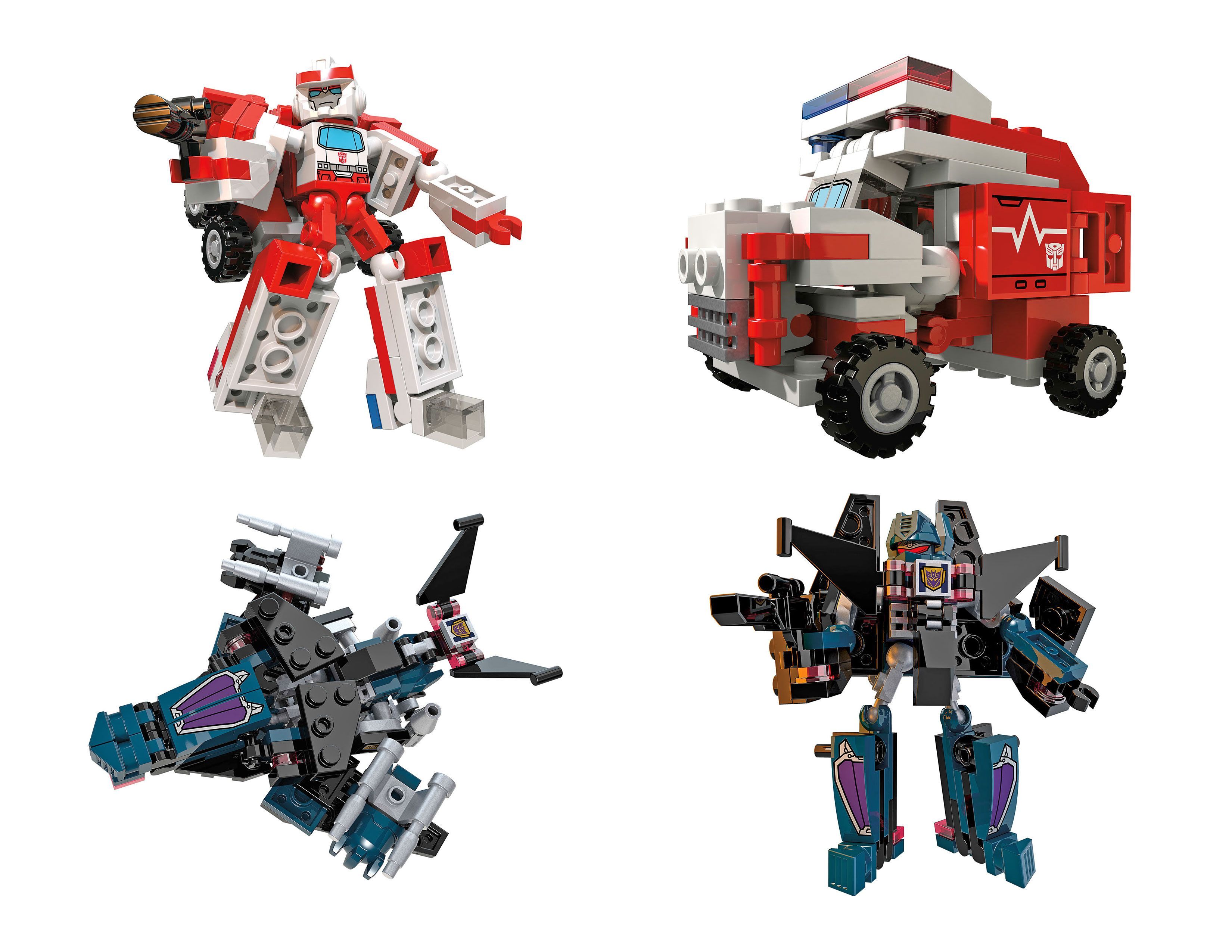 Transformers Kre O Battle Changers Ratchet Vs Soundwave Kre O