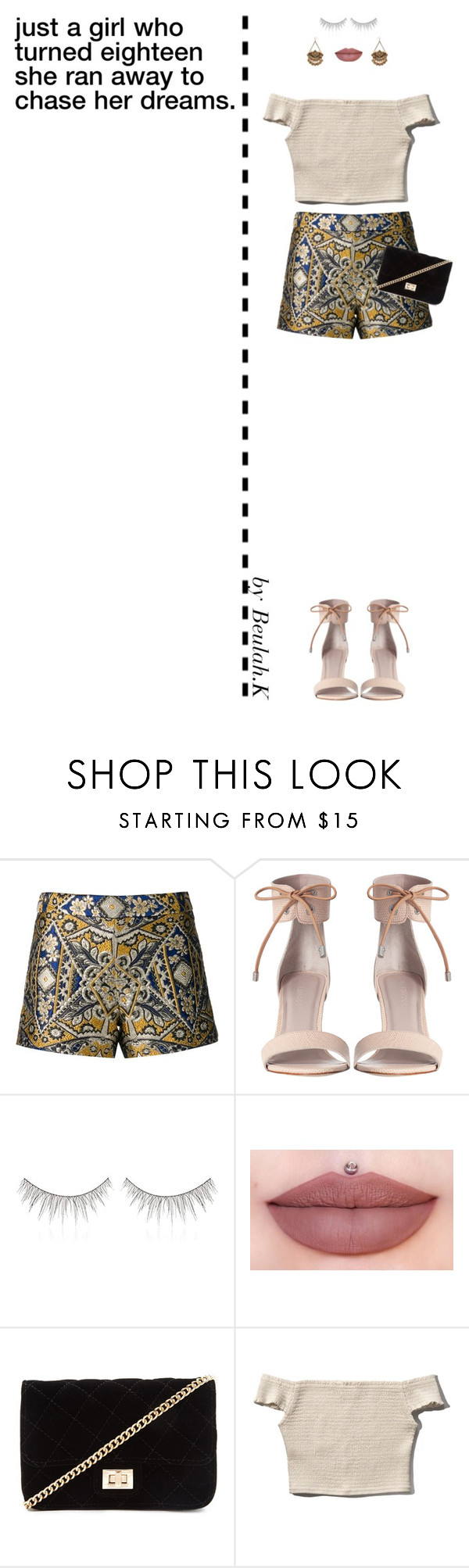 """""""25.11.15"""" by beulah-k ❤ liked on Polyvore featuring moda, Alice + Olivia, Zimmermann, shu uemura, Jeffree Star, Forever 21 i Abercrombie & Fitch"""