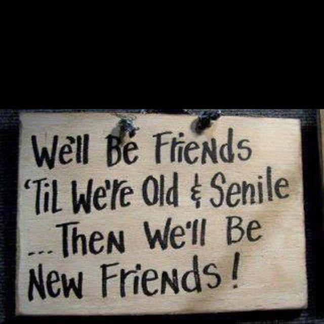 Old and Senile... @alicappetta