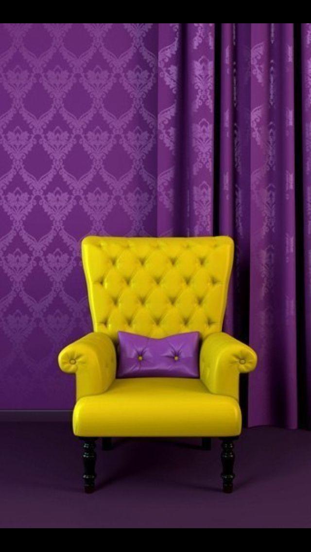 Pin By Mirje On Kodu Sisustus Interior Yellow Chair